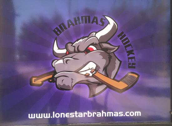 NYTEX Sports Centre: Brahmas' new logo.