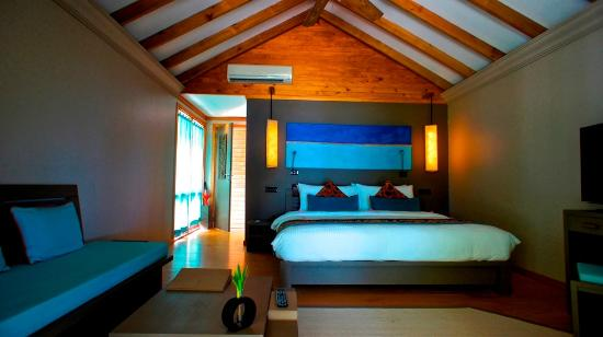 Sunset Beach Villas Picture Of Canareef Resort Maldives