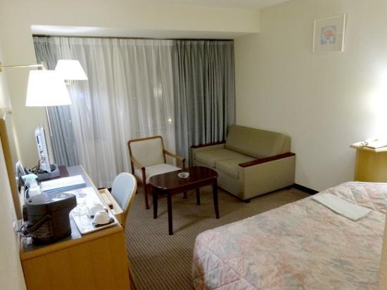Kashima Central Hotel : シングルルーム