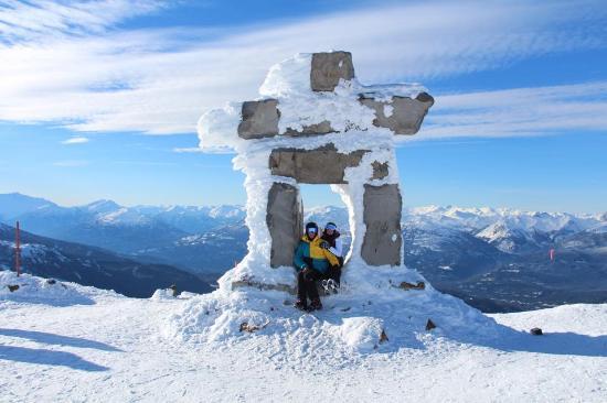 Whistler Blackcomb: At Whistler Peak