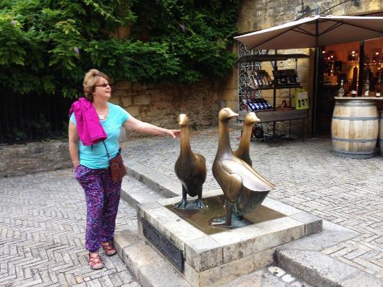 Le Jardin Sarlat: Sarlat Square