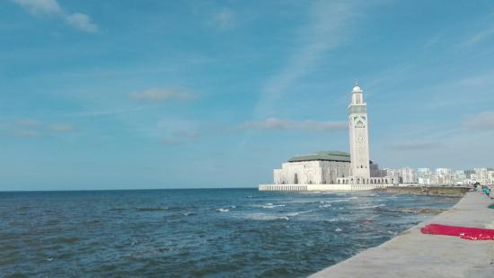 Casablanca, Marruecos: Мечеть Хассана 2