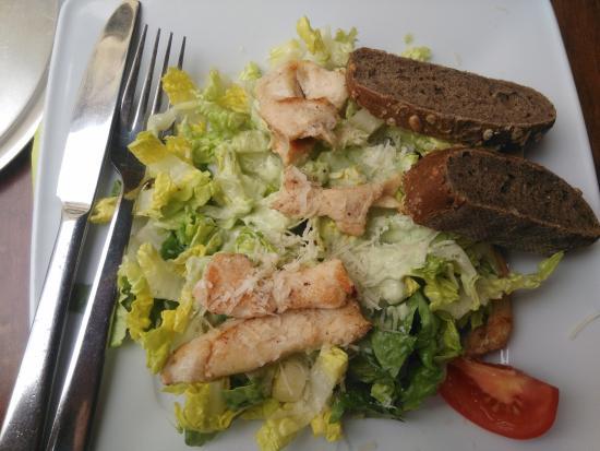 Va Bene: ein Häufchen Kaninchenfutter, aber kein Salat.