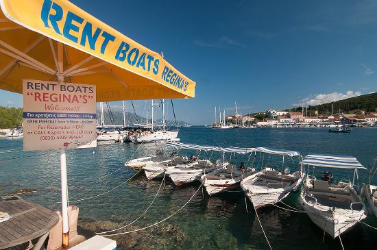 Fiscardo, Greece: Reginas Boats