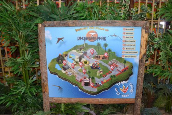Eri Beach & Village: Динопарк на Крите.