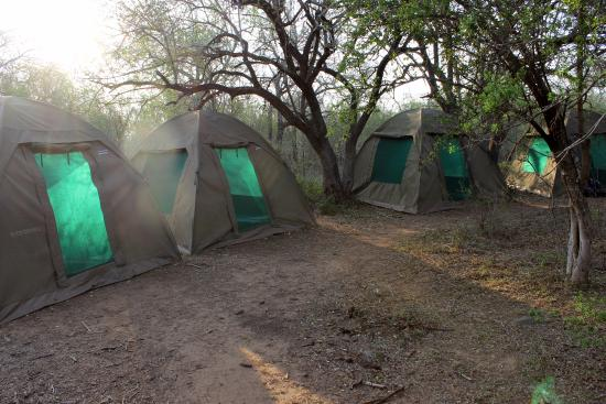 Hluhluwe Game Reserve, South Africa: Base camp