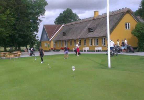 Maribo, الدنمارك: Maribo golfklub øvelser