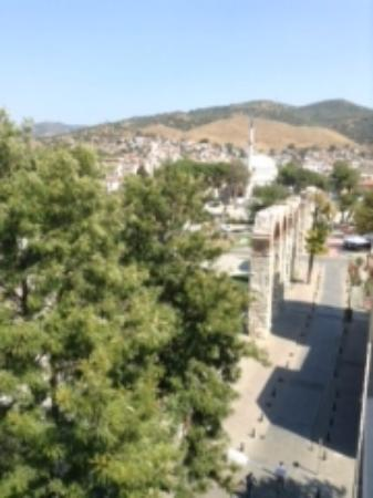 Urkmez Hotel: One view from Roof terrace