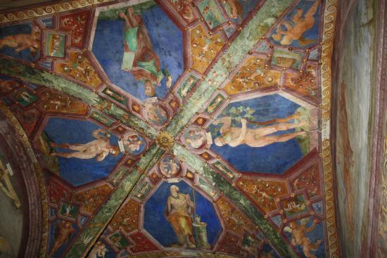 Spoleto, Italia: Affresco