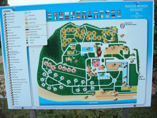 Unahotels Naxos Beach Sicilia This Is The Map Of Atahotel