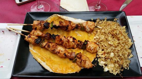 Beirut Cocina Libanesa: Spiedini