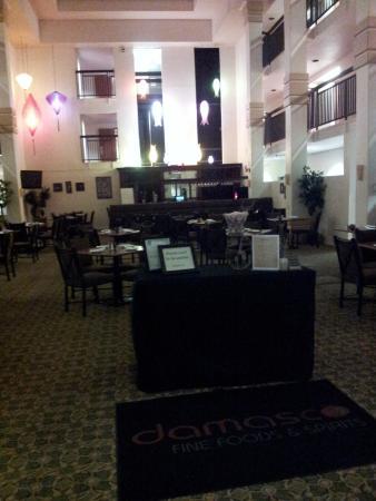 Patterson, Kalifornia: hall con ristorane/colazione