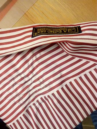 A Dong Silk Tailors: Shirt melted on the iron on the first touch