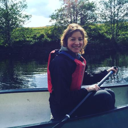 In Your Element Scotland: Me in a canoe