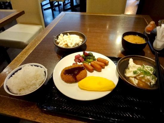 「アパヴィラホテル<大阪谷町四丁目駅前>(アパホテルズ&リゾーツ) 朝食」の画像検索結果