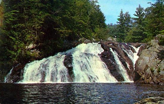 Bristol, Nueva Hampshire: Profile Falls