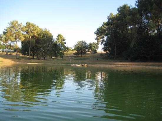 Camping d'Orpheo Negro : pond