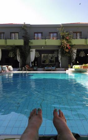 La Piscine Art Hotel: Pool view