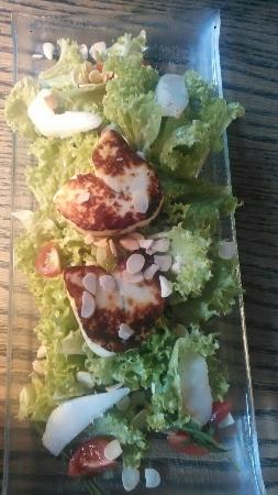 Project 72 Wine&Deli: This is the goat cheese,very very tasteful meal :))) yumyum