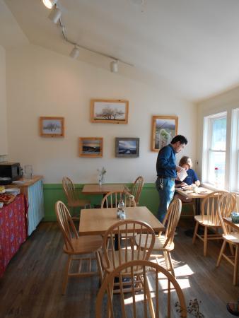 Blue Hill Co-op Community Market: Café inside eating area