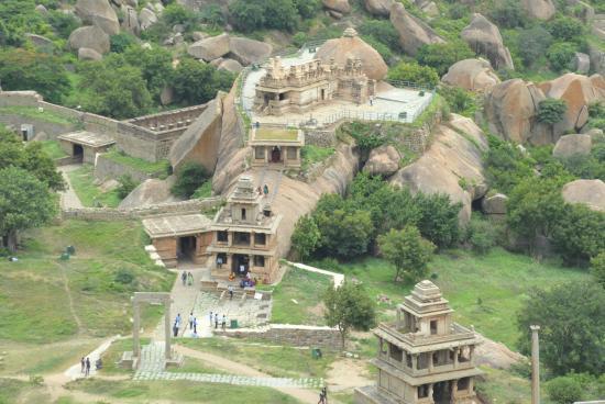 Chitradurga, Indien: close up