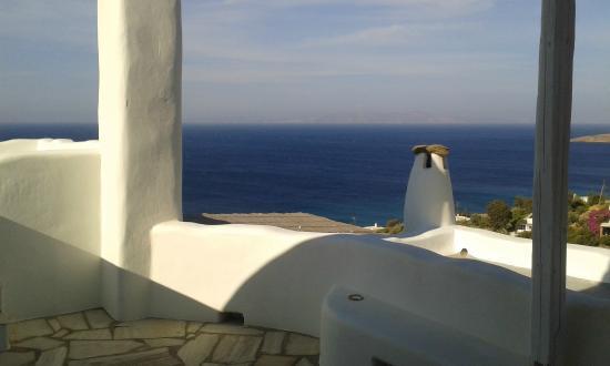 Vega Apartments: View from Sirius terrace