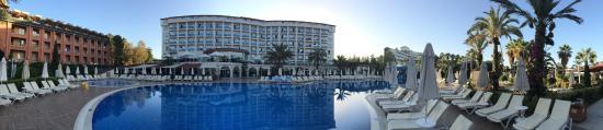 Annabella Diamond Hotel: Hotel ráno.