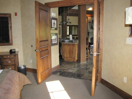 Hotel Park City Autograph Collection Double Doors From Master Bedroom