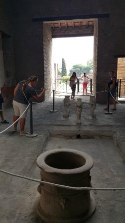 Casa Dei Quadretti Teatrali o Casca Longus - Pompei