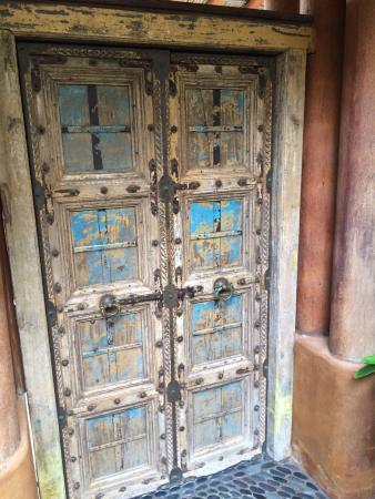 Amuleto: Our suite door!