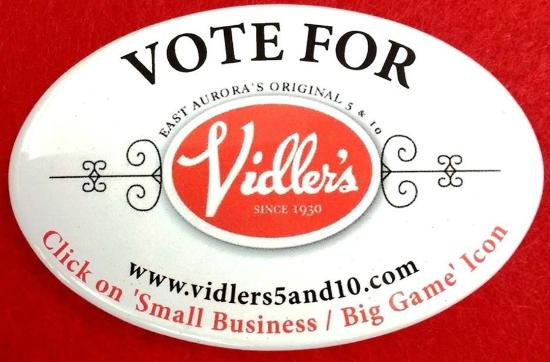 Vidler's 5 & 10: Vote for Vidler's