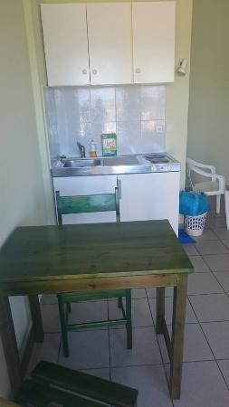 Enorme Eanthia Beach: Te-køkken på værelset