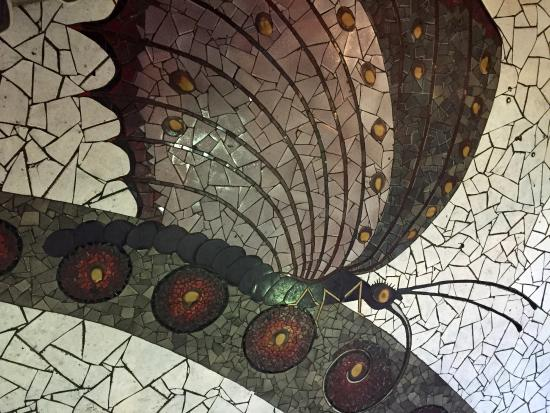 City Museum Floor Tile Art