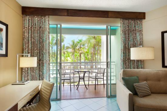 Hilton Ponce Golf & Casino Resort: Standard Room Balcony