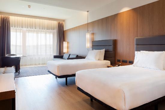 Habitación superior double twin beds