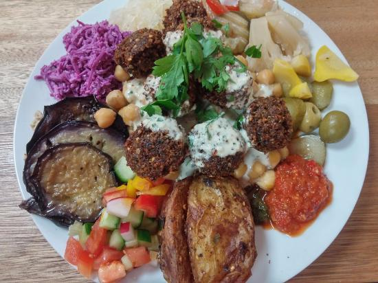 Falafel mezze plate - Picture of Ruth's