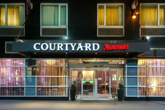 Courtyard New York Manhattan/Times Square West: Exterior at Night