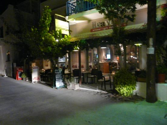 Windmill Naxos: cafe juste a coté qui est super