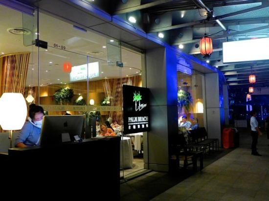 Palm Beach Seafood Restaurant Restuarant Exterior And Entrance