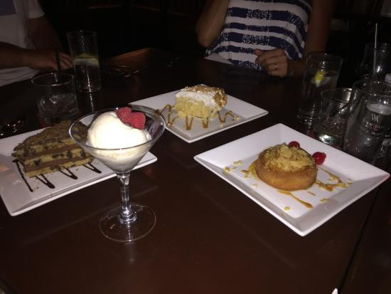 Twenty 6: assortment of desserts
