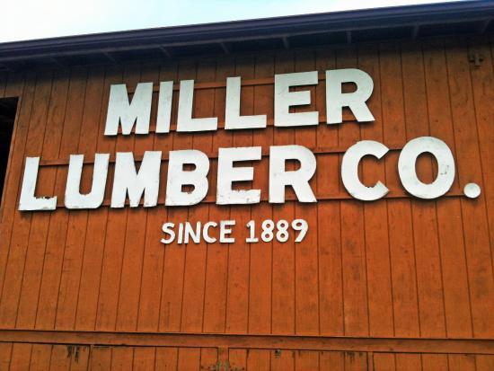 Mount Pleasant, NC: Miller Lumber Co.