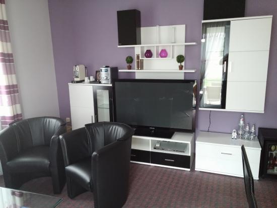 Hotel Rhöner Land: das Wohnzimmer