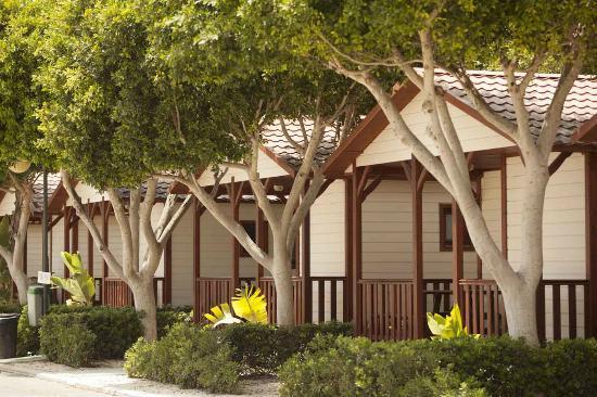 Marjal Guardamar Camping & Resort: Vista Bungalows