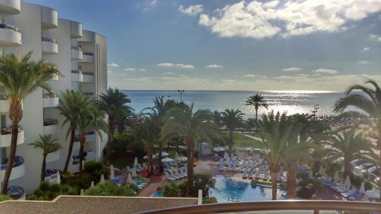 Vista Dall Hotel Picture Of Hipotels Dunas Cala Millor Cala