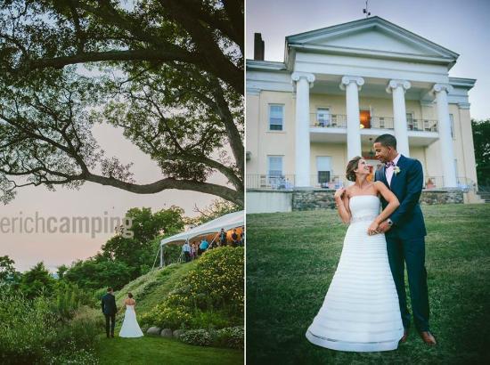 Bluff Point, NY: A wedding at Esperanza Mansion