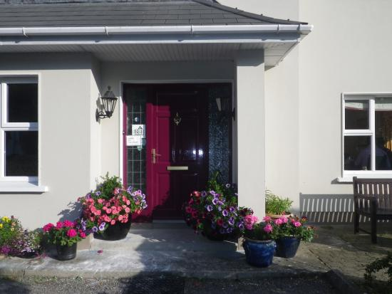 The entrance to Beniska House - as lovely as the hosts