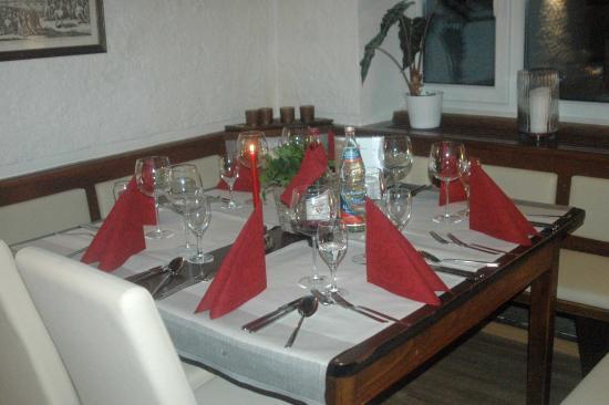 Gasthof Schaeffler: das neue Restaurant
