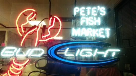 Pete's Seafood Restaurant : Pete's