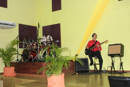 Warrens, Barbados: The talented musicians