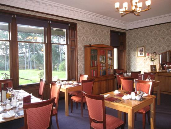 Dalrachney Lodge Hotel: Breakfast Room